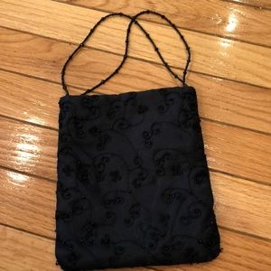 Charter Club evening bag with beading